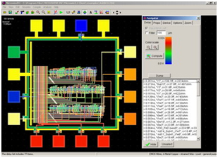 Microwind - A CMOS layout tool